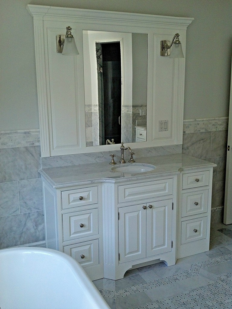 Custom Bathroom Vanities Connecticut cabinets & built-in closets | woodwell
